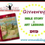 Bible Story and Art Lessons DVD Giveaway